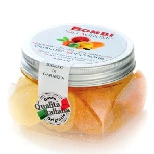 Natural Citrus Fruit Gels: In Container