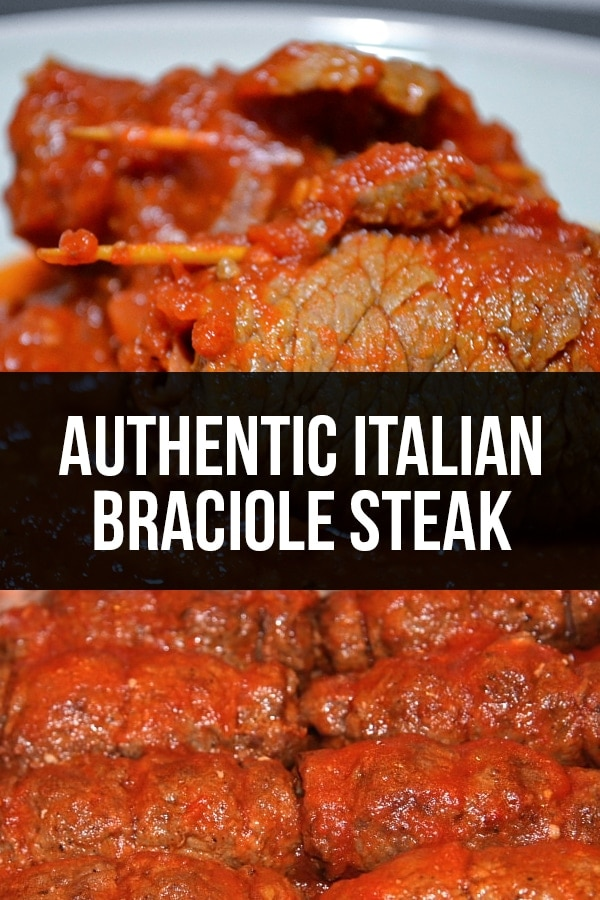 Authentic Italian Braciole Steak Recipe