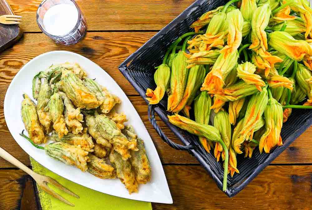 Fried Zucchini Blossoms Recipe