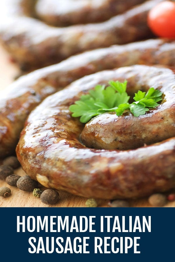 This Homemade Italian Sausage Recipe Is Unlike Anything You've Seen