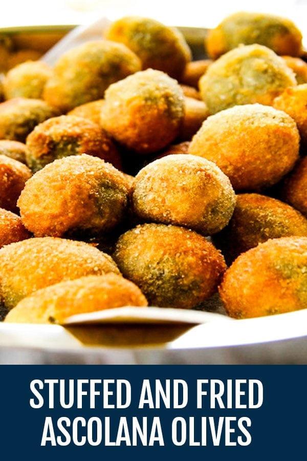 Olive alla Ascolana History and Recipe – Stuffed and Fried Ascolana Olives