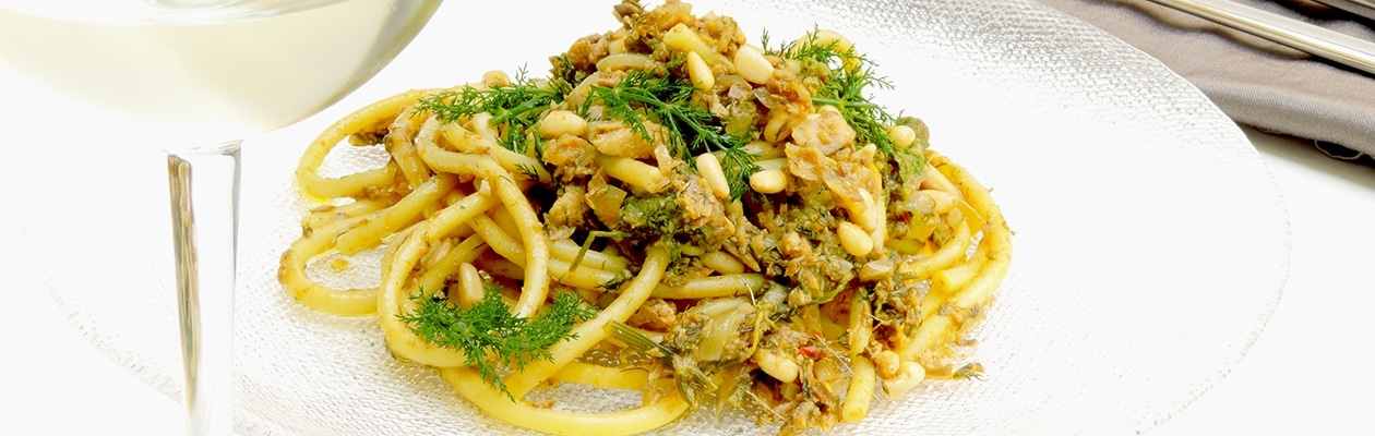 bucatini recipe with sardines