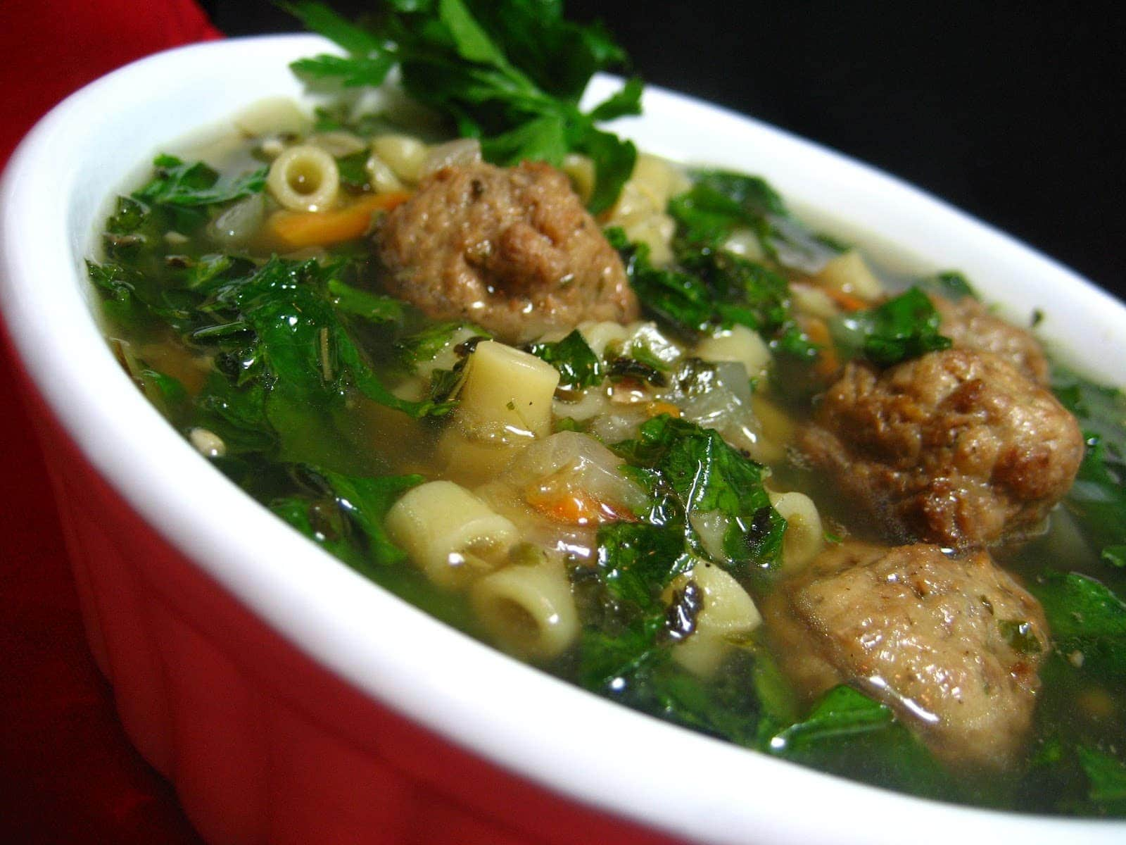 This Is A Simplified Authentic Italian Wedding Soup Recipe